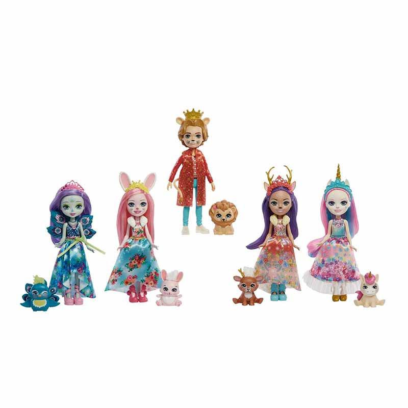 Royar Enchantimals pack 5 personajes