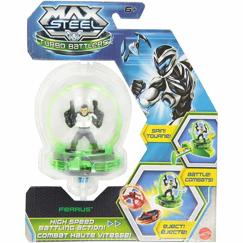 Mattel Max Steel Turboluchadores