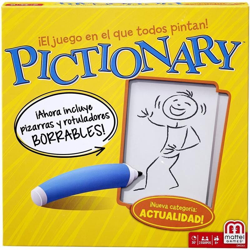 Juego Pictionary Cast