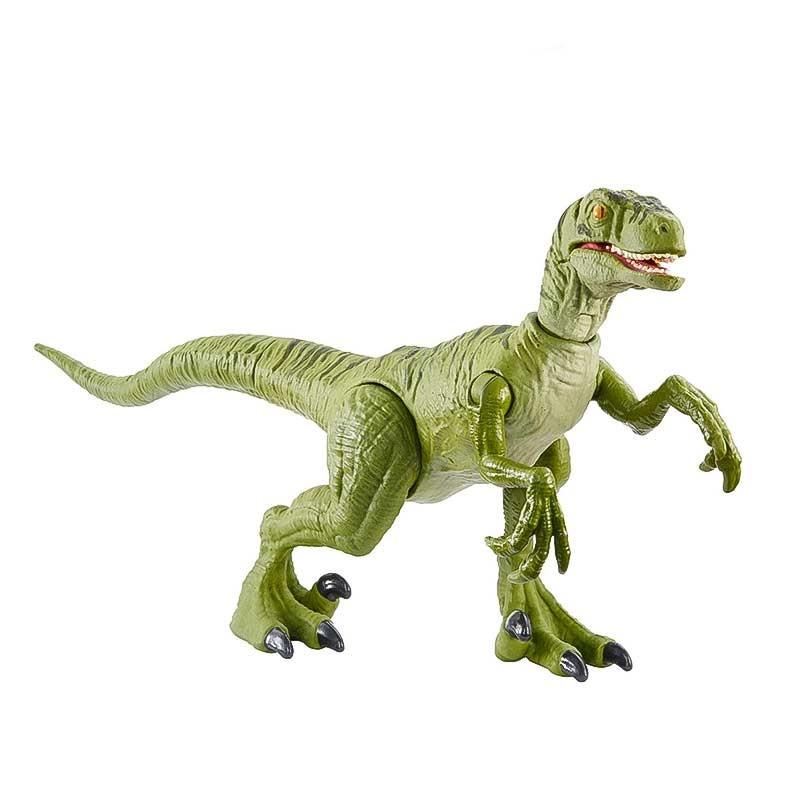 Jurassic World ataque salvaje Velociraptor