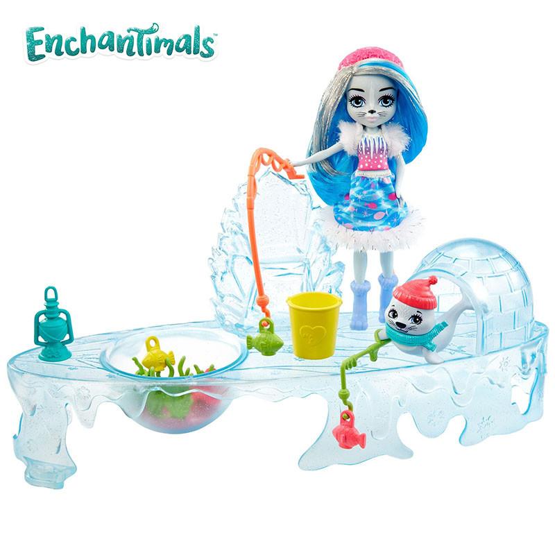 Enchantimals vamos de pesca en el hielo