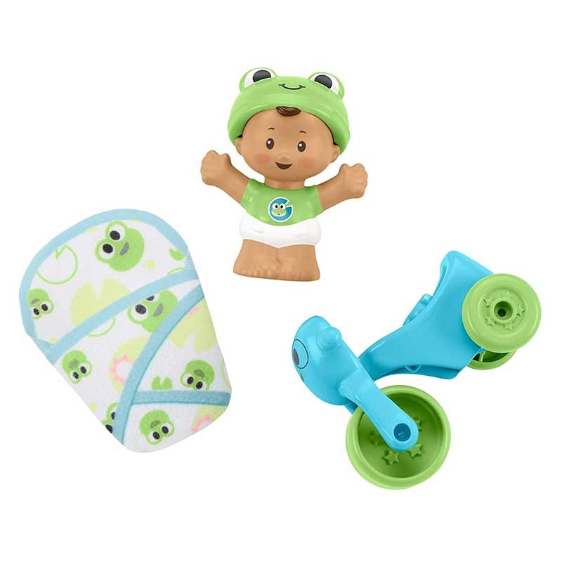 Little People Rana y accesorio Little Babies
