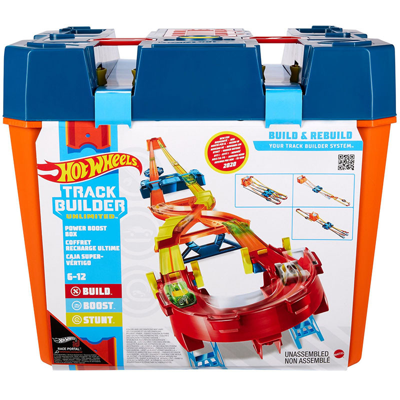 Hot Wheels Track Builder Caja Acrobacias Premium