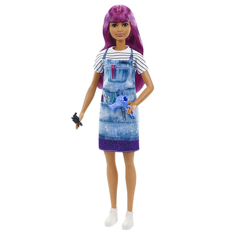 Barbie quiero ser peluquera de salón de belleza