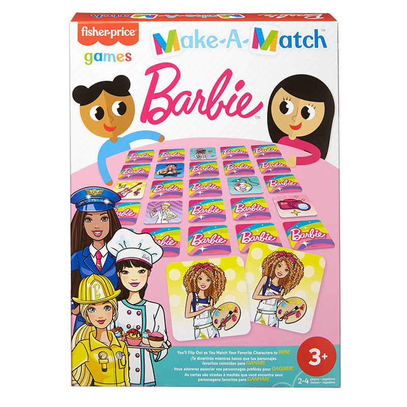 Fisher-Price Games Juego de memoria Barbie