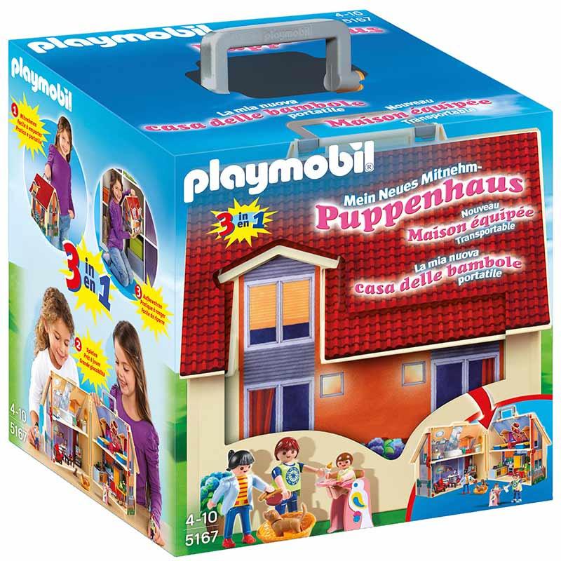 Playmobil Casa Muñecas Maletín