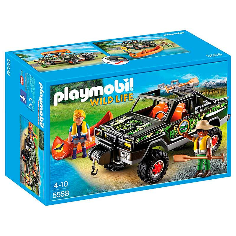 Playmobil pick up de aventura