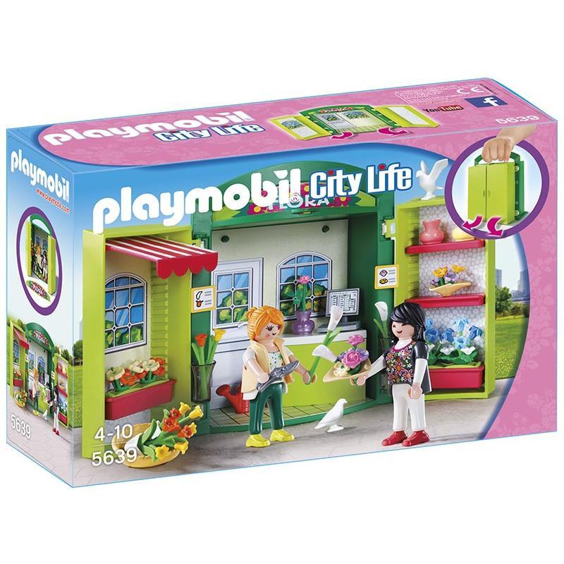 Playmobil Cofre Tienda de Flores