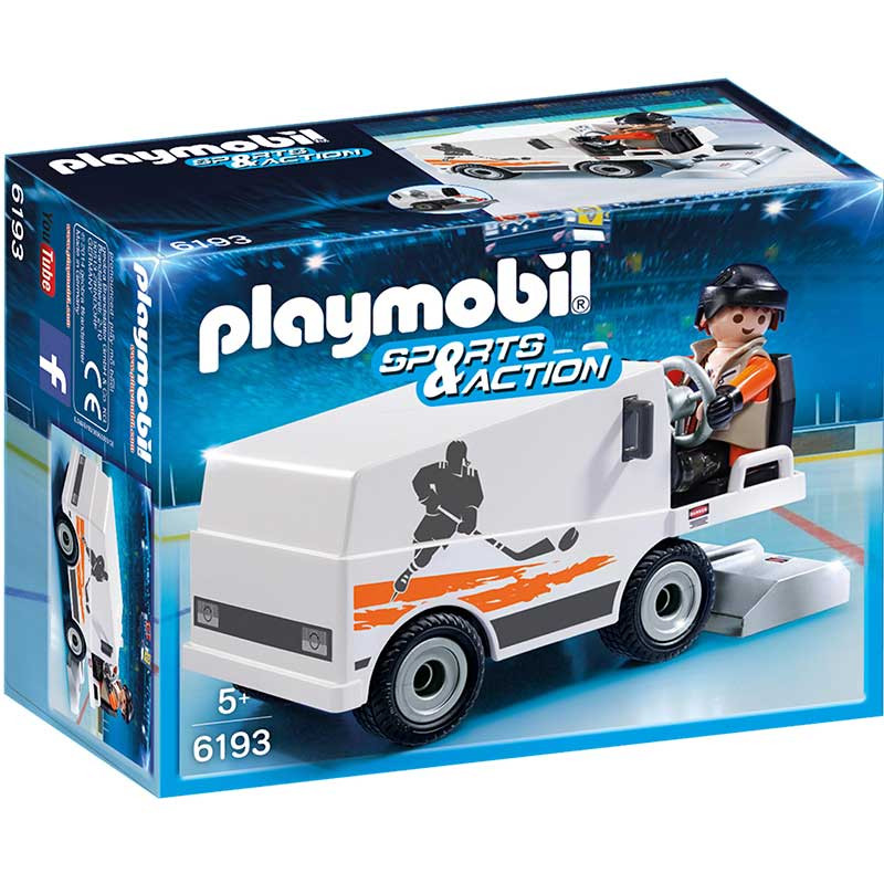 Playmobil Sports And Action Pulidora de Hielo