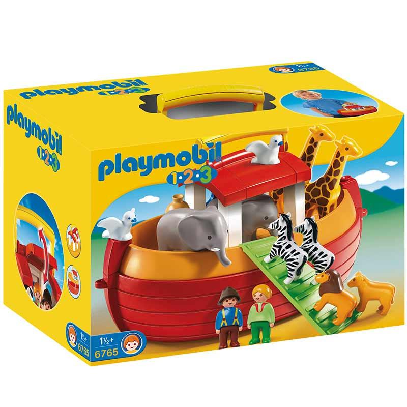 Playmobil 1.2.3 Arca de Noé Maletín