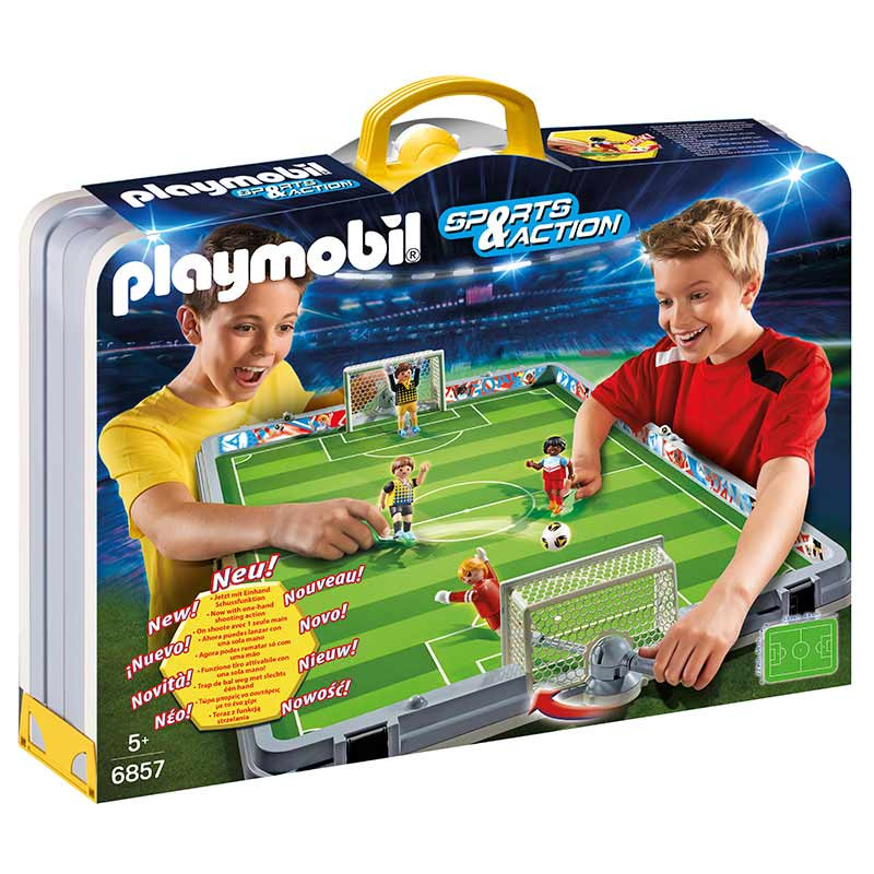 Playmobil Sport & Action set de fútbol maletí