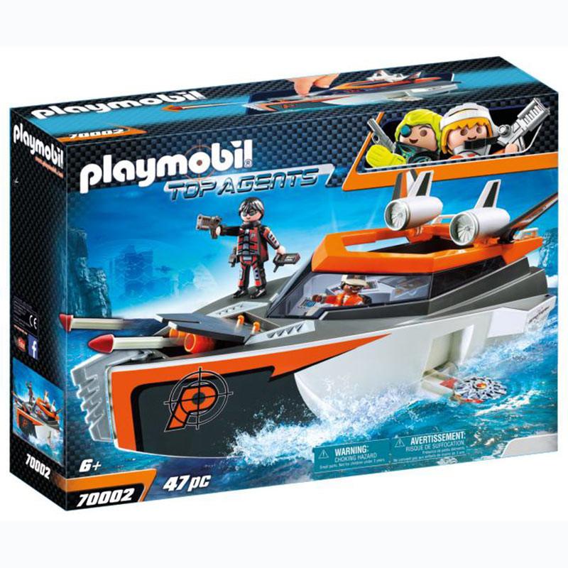 Playmobil SPY TEAM Turbonave