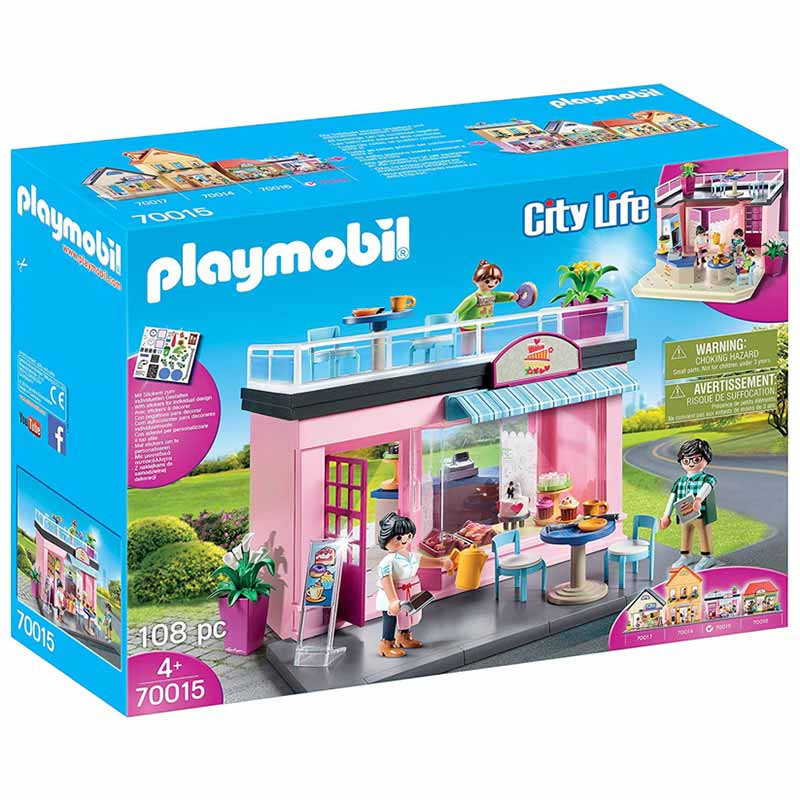Playmobil City Life Mi Cafetería