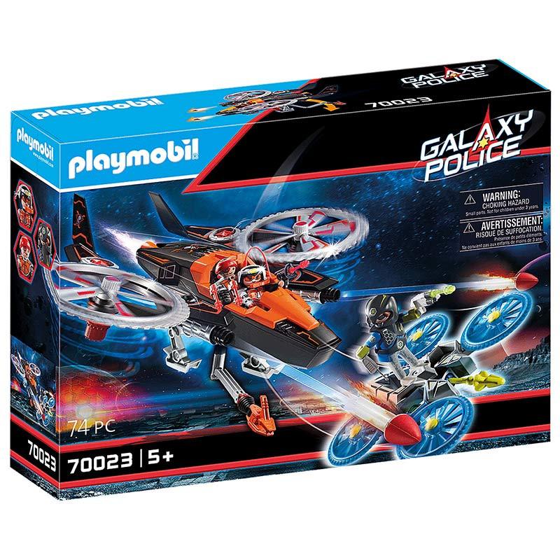 Playmobil Piratas Galácticos Helicóptero