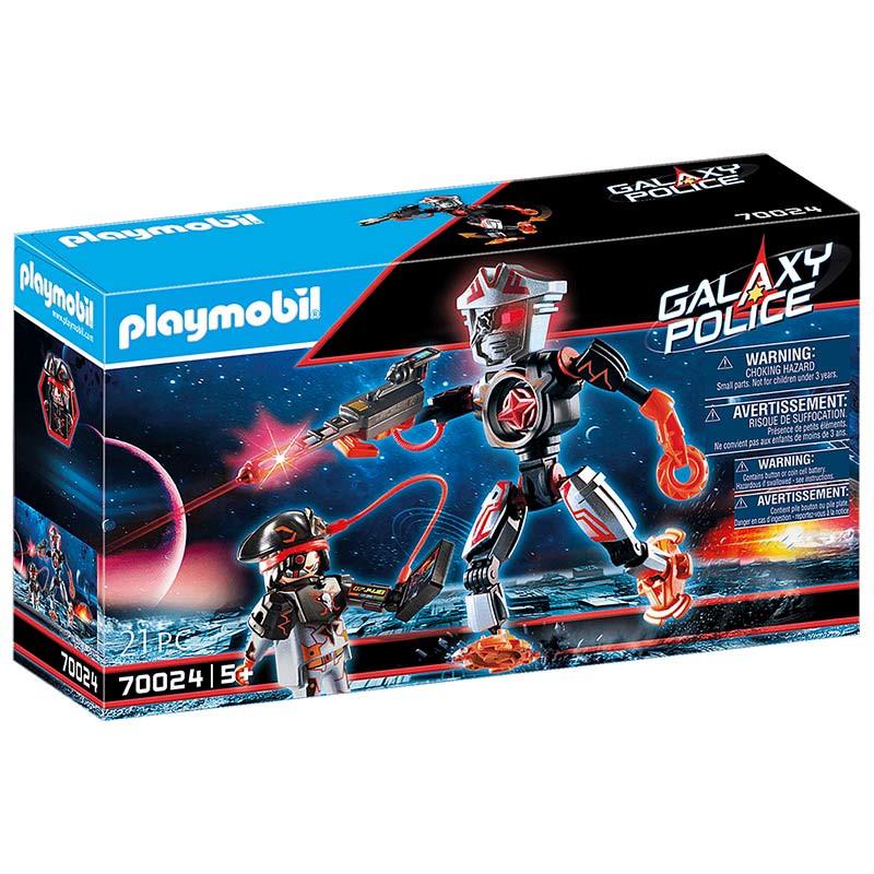 Playmobil Piratas Galácticos Robot