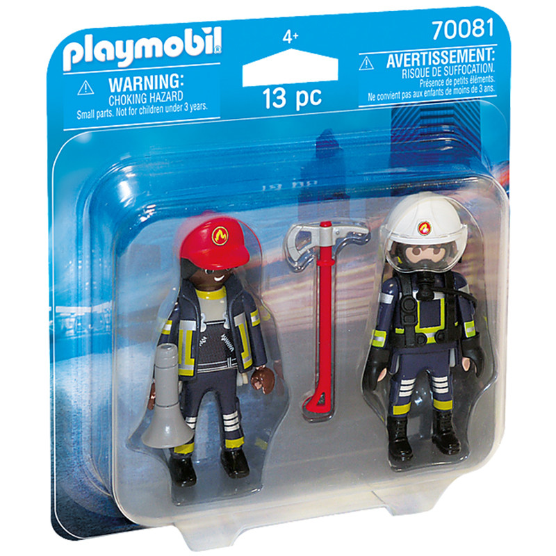 Playmobil City Action duo pack de bomberos
