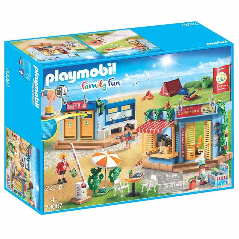 Playmobil Family Fun camping