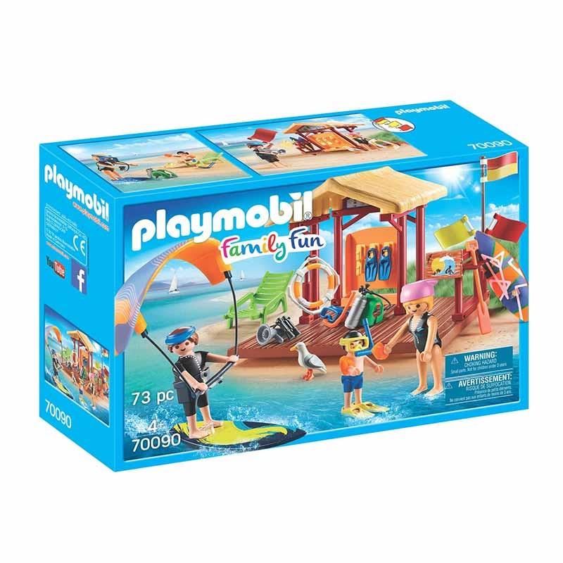 Playmobil Family Fun clase deportes de agua