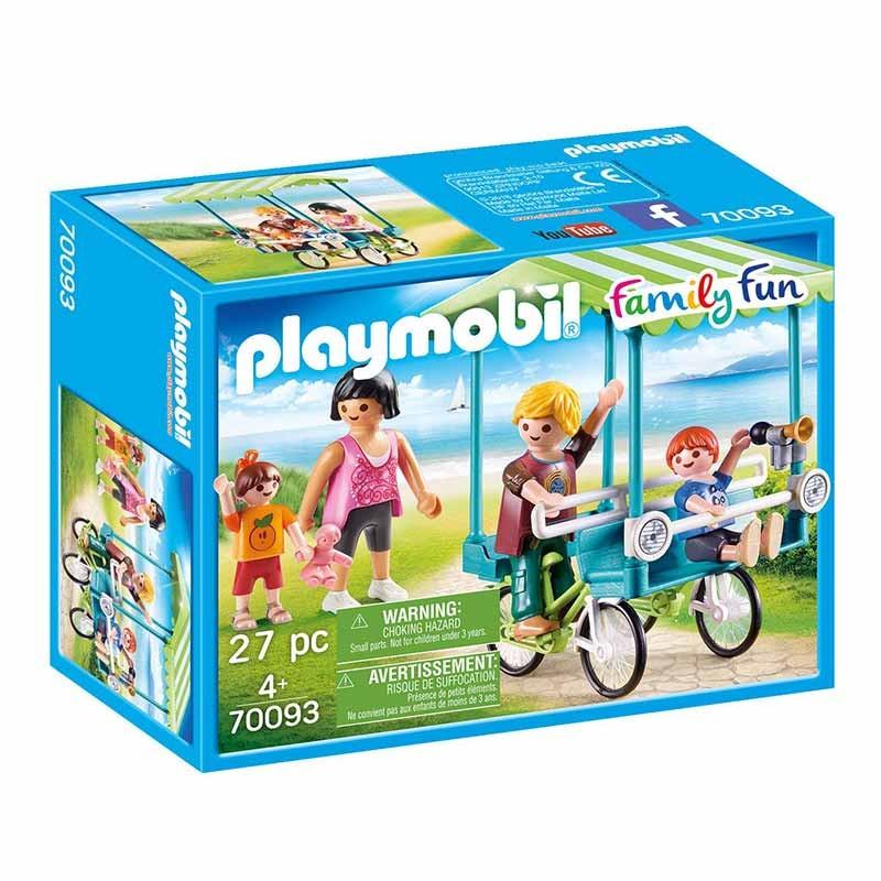 Playmobil Family  Fun bicicleta familiar