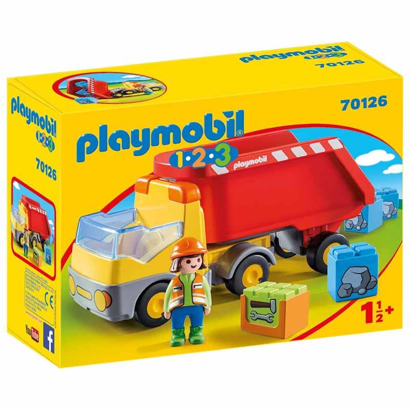 Playmobil 1.2.3 Camión de Construcción