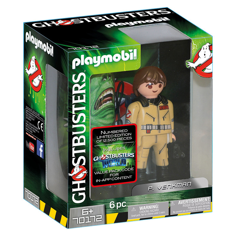 Playmobil Ghostbusters figura P.Venkman