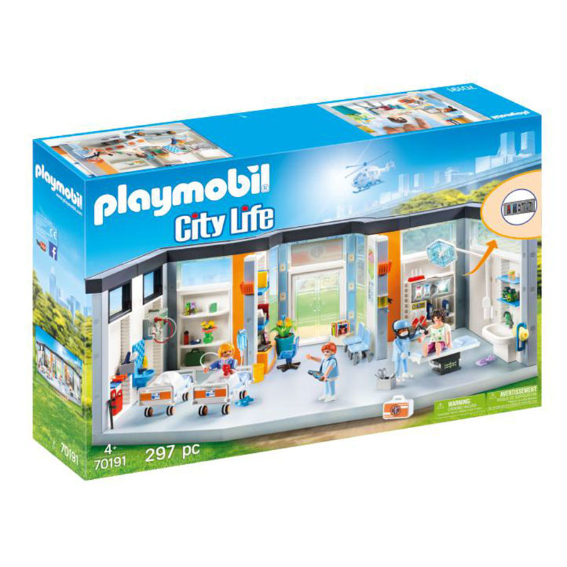 Playmobil City Life planta de hospital