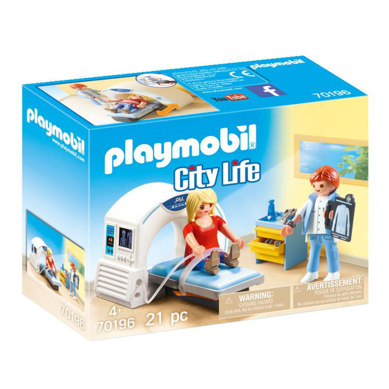 Playmobil City Life radiólogo