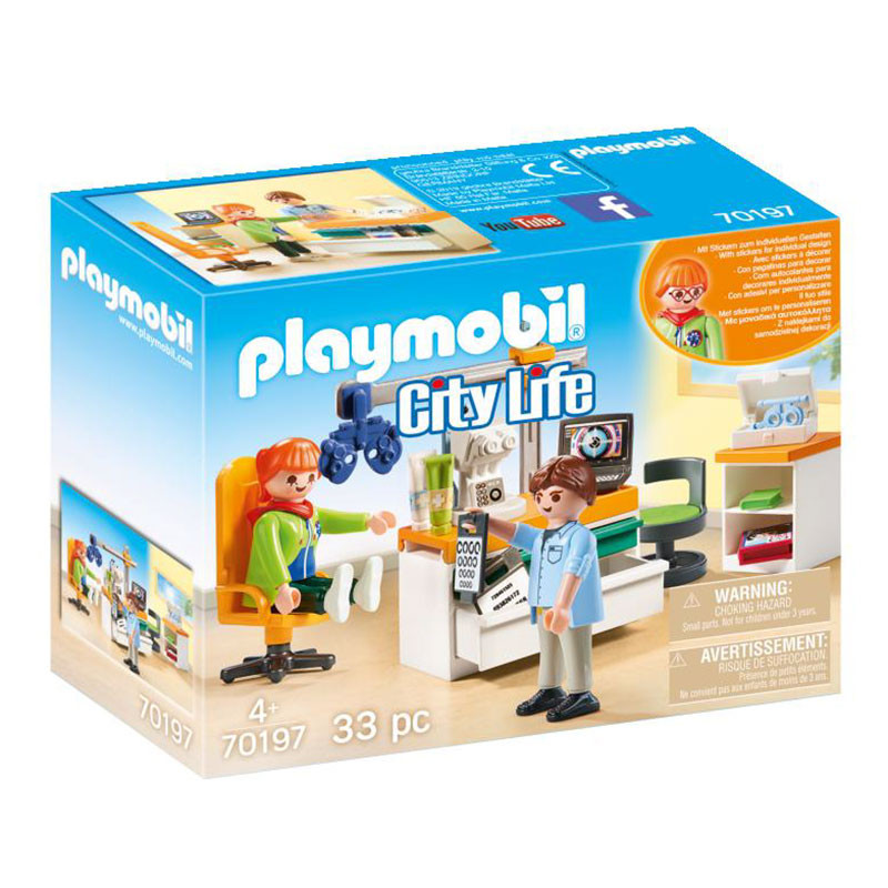 Playmobil City Life oftalmólogo