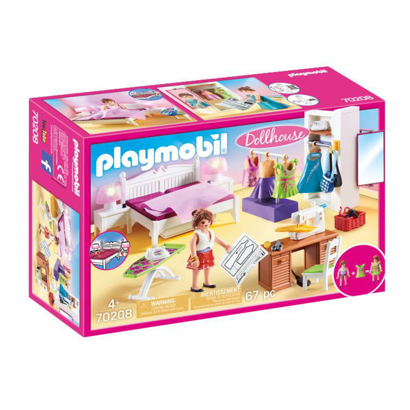 Playmobil Dollhouse dormitorio