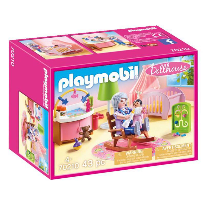 Playmobil Dollhouse habitación del bebé