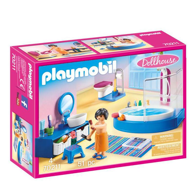 Playmobil Dollhouse baño