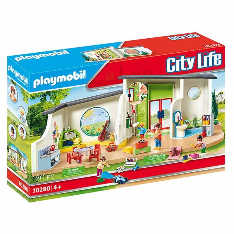 Playmobil City Life guardería Arcoíris