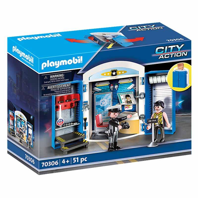 Playmobil cofre policía