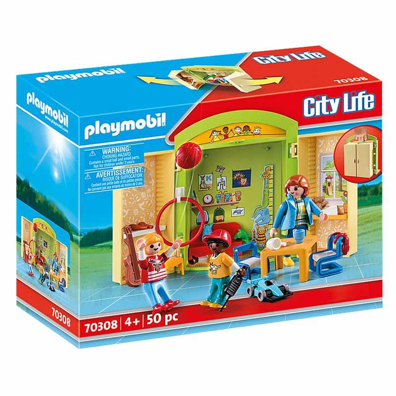 Playmobil cofre guardería