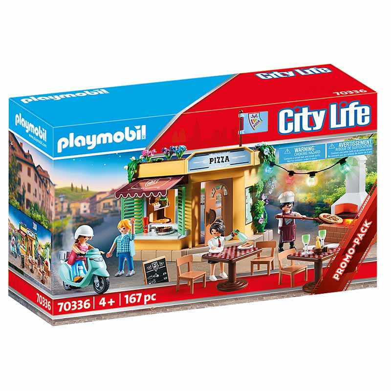 Playmobil Family Fun pizzería