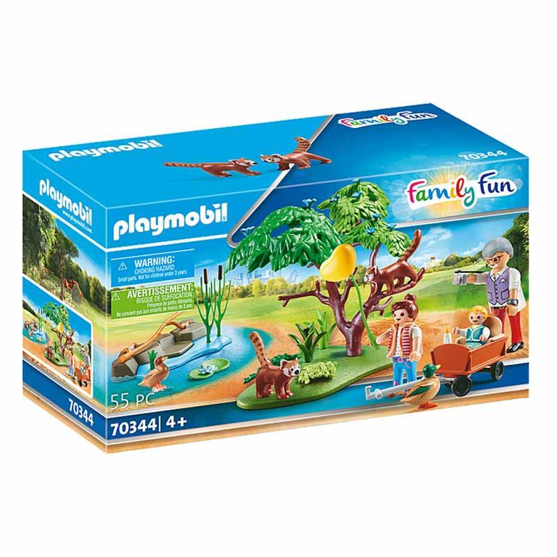 Playmobil Family Fun recinto de pandas rojos