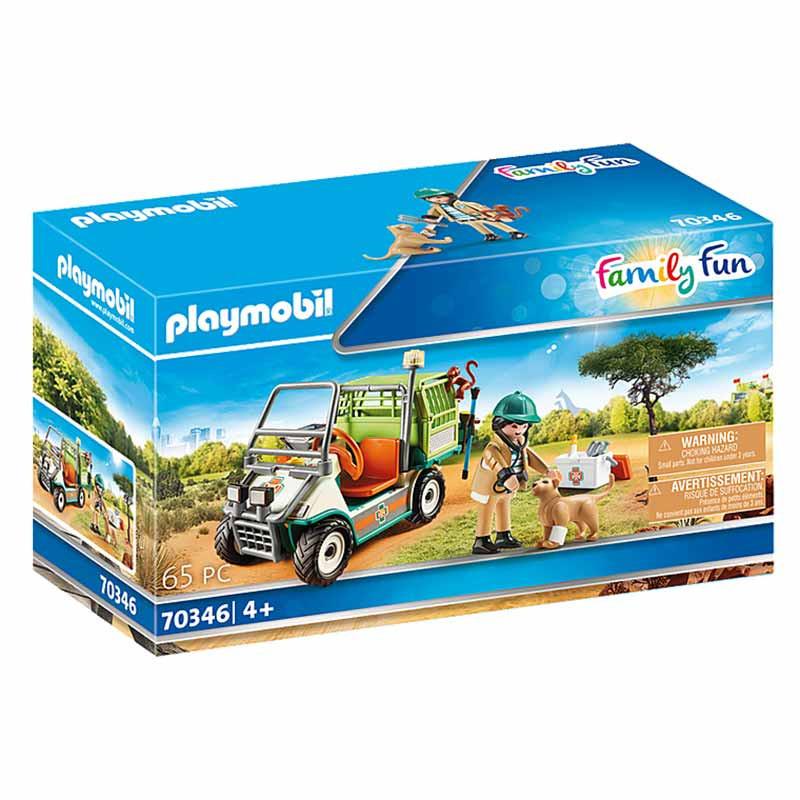 Playmobil Family Fun veterinario de zoo