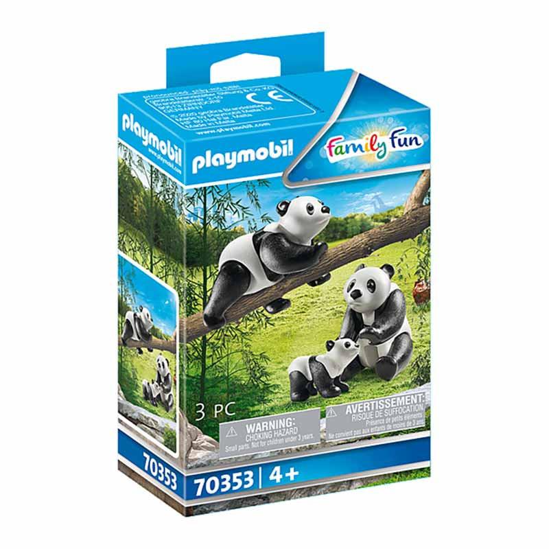 Playmobil Family Fun pandas con bebé