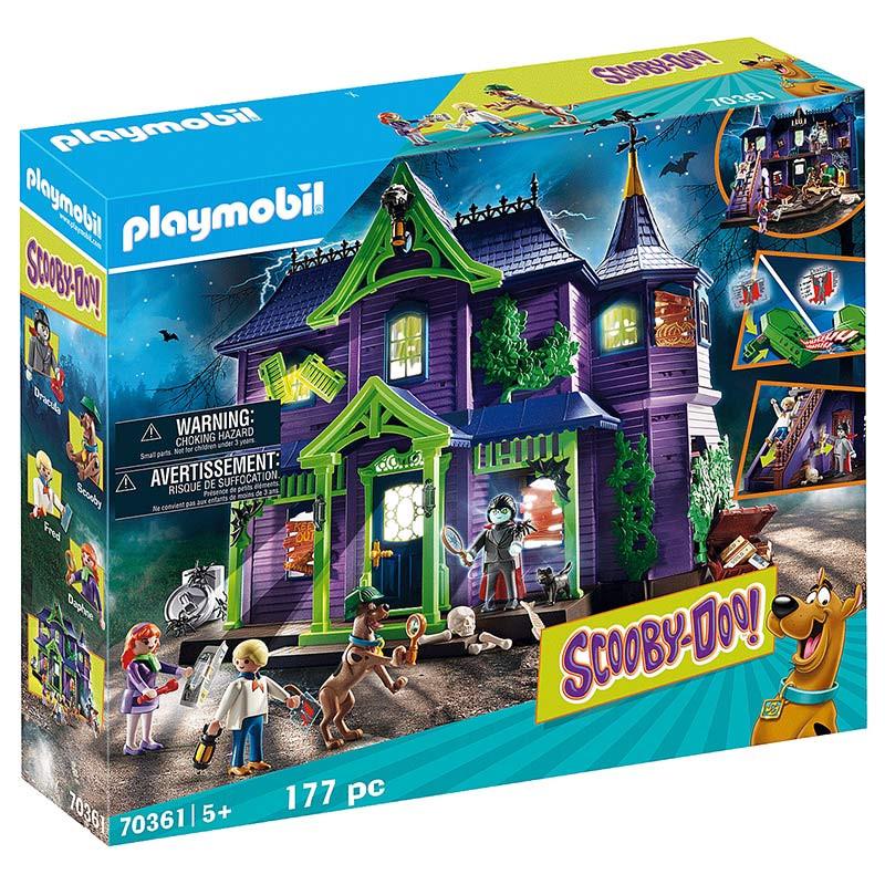 Playmobil SCOOBY-DOO! Aventura en la ManSíón Miste