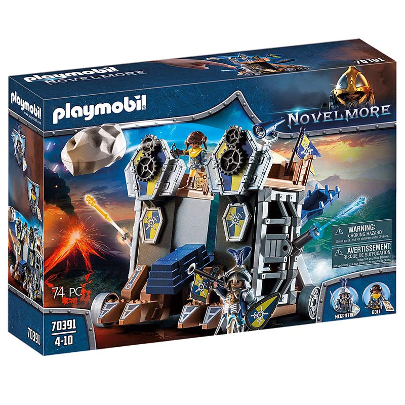 Playmobil Fortaleza Móvil Novelmore