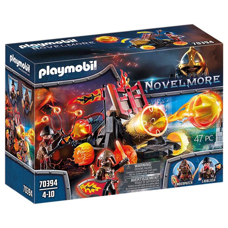 Playmobil Catapulta de Lava de los Bandidos de Bur