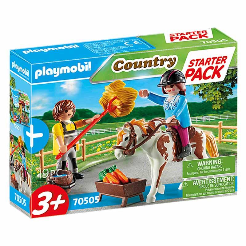 Playmobil starter pack granja set adicional