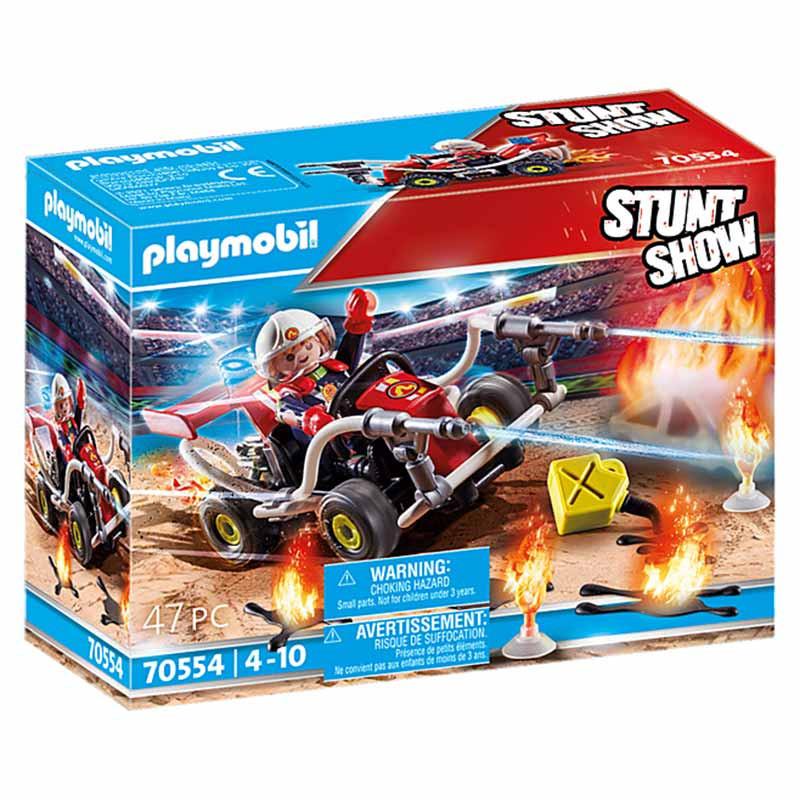 Playmobil Stuntshow Kart Bombero