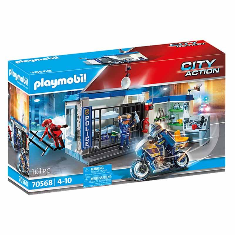 Playmobil City Action policía escape de la prisión
