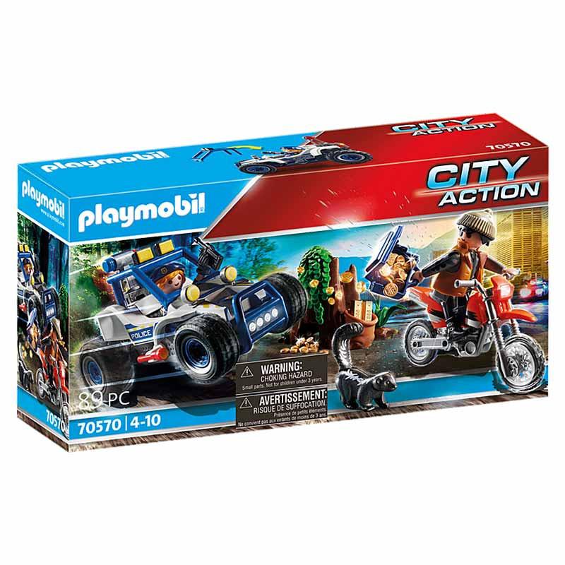 Playmobil City Action todoterreno de policía