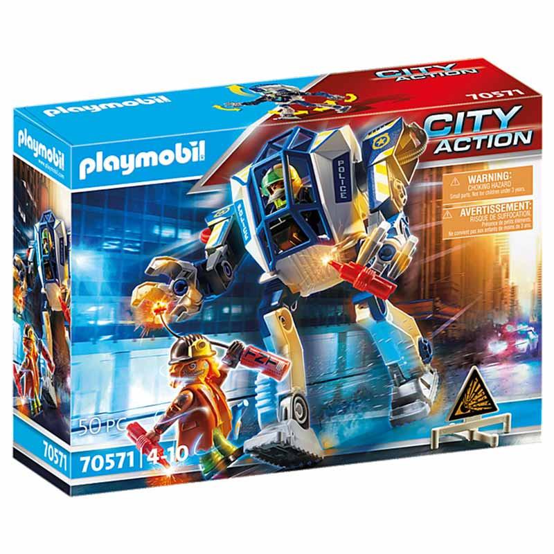 Playmobil City Action robot policía