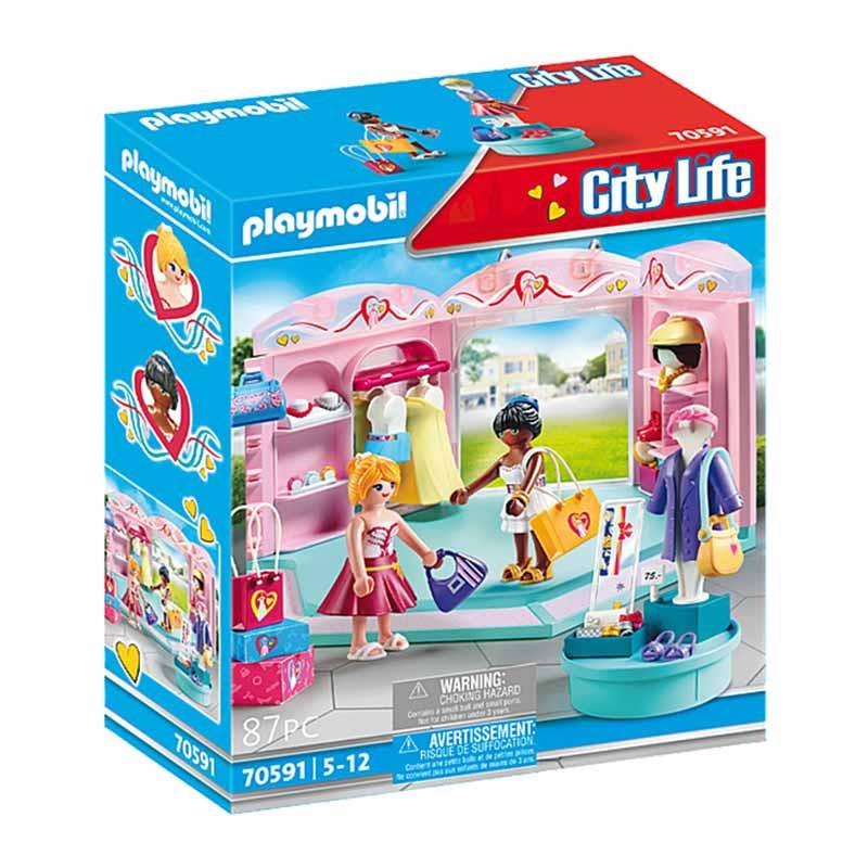 Playmobil City Life tienda de moda