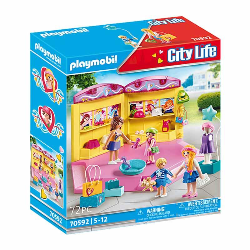 Playmobil City Life tienda de moda infantil