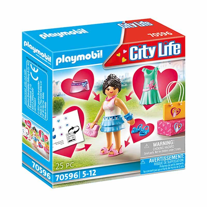 Playmobil City Life chica fashion