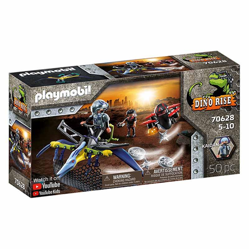 Playmobil Dinos Pteranodon: ataque desde el aire